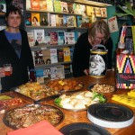 Our spread at the Bookseller Crow in Crystal Palace.